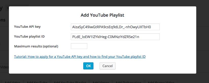 WordPress YouTube Playlist Gallery | WordPress and