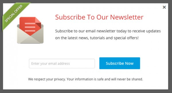 WordPress Popup Plugin for Email Signup Form | WordPress Plugin