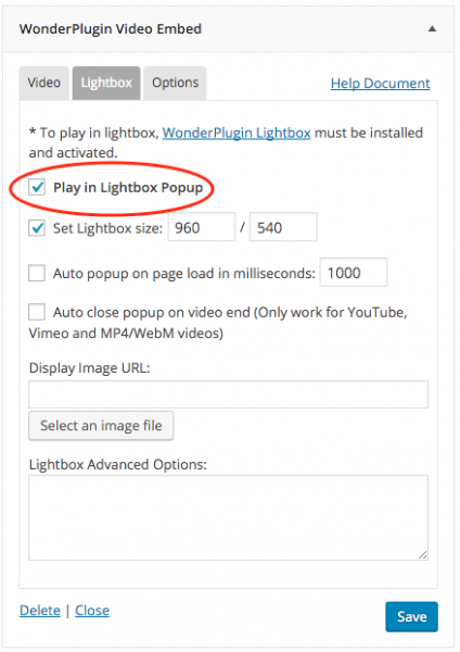 wordpress-video-lightbox
