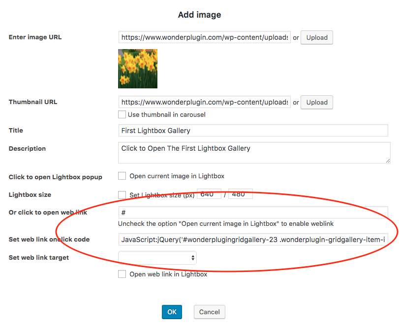 open a different lightbox gallery for each thumbnail in a wordpress rh wonderplugin com