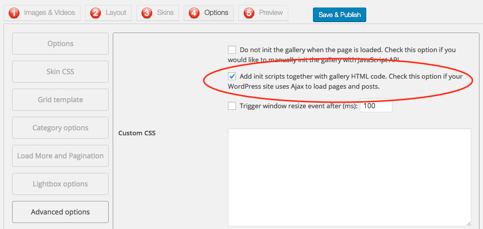 Lightbox effect not working with the WordPress theme Salient ...