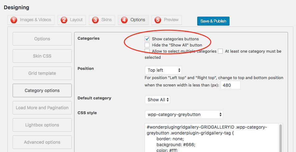 Category/wordpress