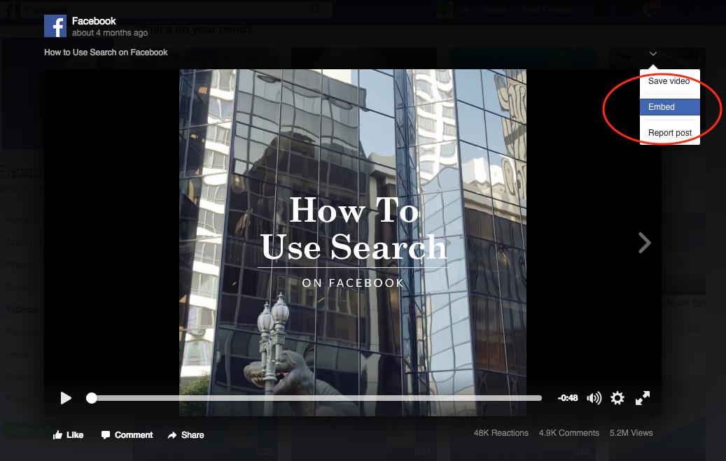 How to add Facebook videos to WordPress carousel   WordPress