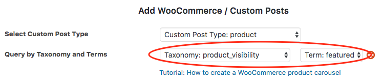 woocommerce3 featured products