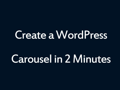 WordPress Carousel