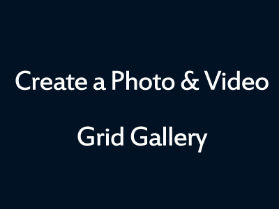 WordPress Grid Gallery