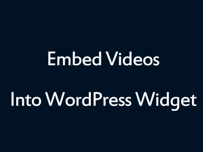 WordPress Video Embed Plugin