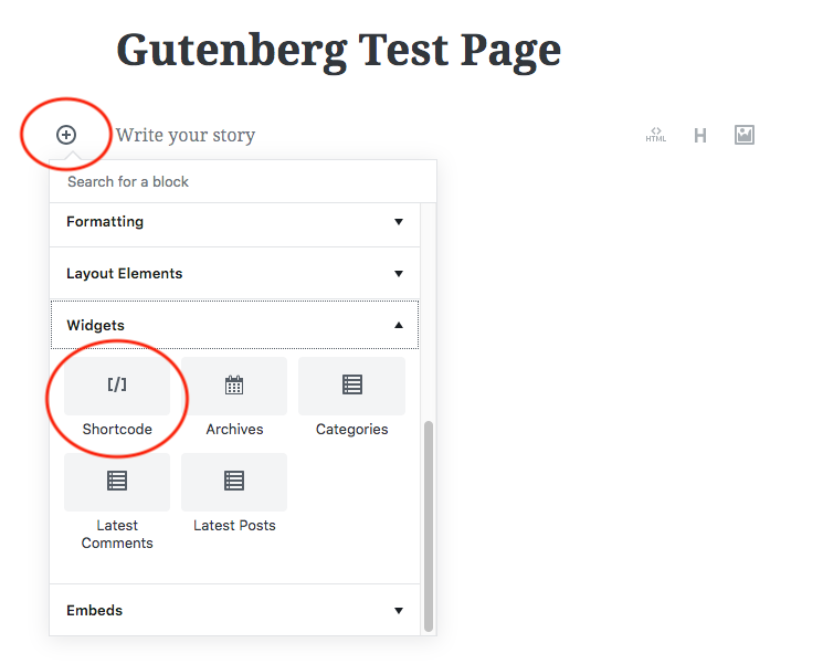 How to add Shortcode to the new Gutenberg editor | WordPress and