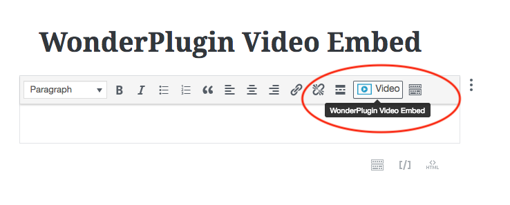 How to add a video player to Gutenberg editor | WordPress