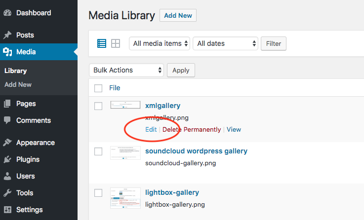 How To Find The Url Of Media Files Uploaded To Wordpress Media Library Wordpress Plugin