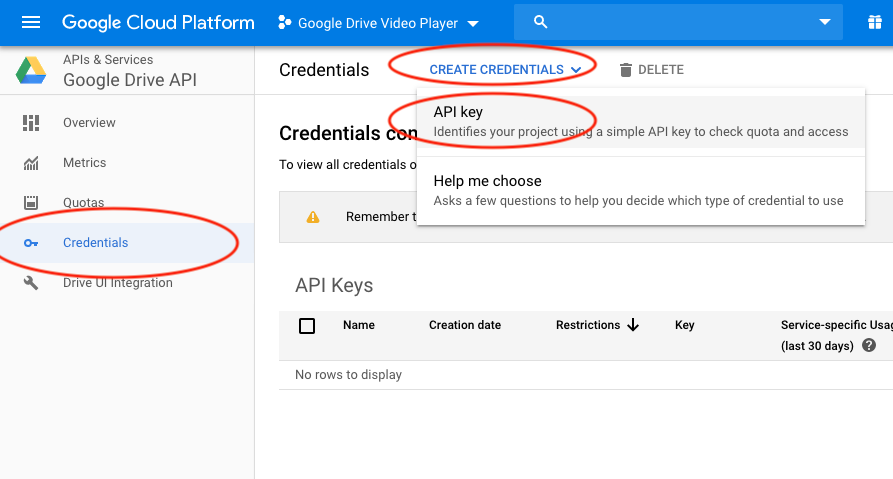 How to apply for a Google Drive API key | WordPress and WooCommerce