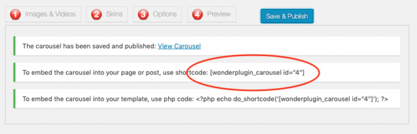 woocommerce featured products carousel publish