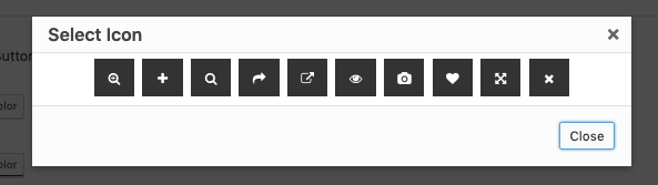 woocommerce quick view button icon