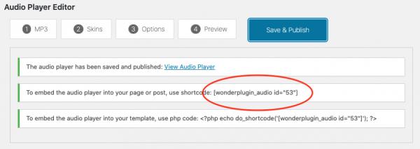 wordpress-audio-player-shortcode