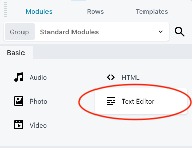 beaver-text-editor