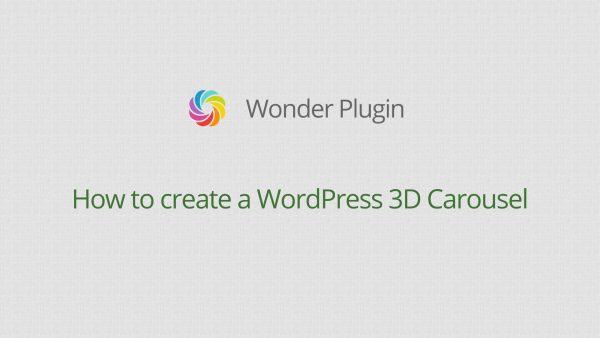 wordpress-3d-carousel-video