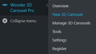 wordpress-3d-carousel-menu