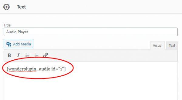 wordpress-audio-siteorigin-text