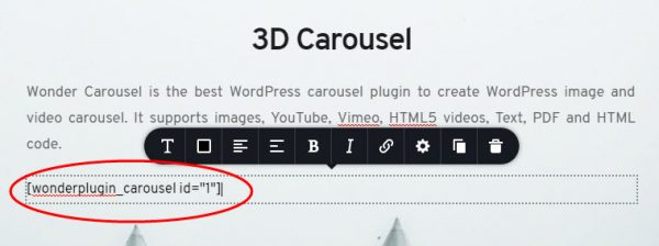 wordpress-carousel-brizy-text