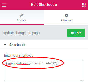wordpress-carousel-elementor-shortcode