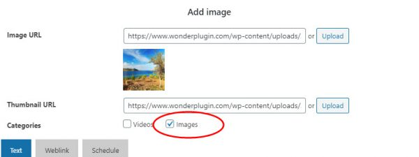 wordpress-gallery-assign-category